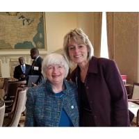 Lora Benrud Represents Federal Reserve Bank of Minneapolis