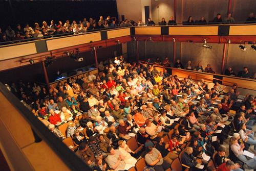 Popular events at the Broomfield Auditorium supported by BCAH