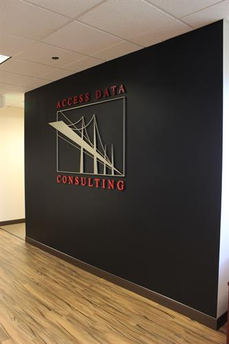 Custom Interior Office Sign in Denver