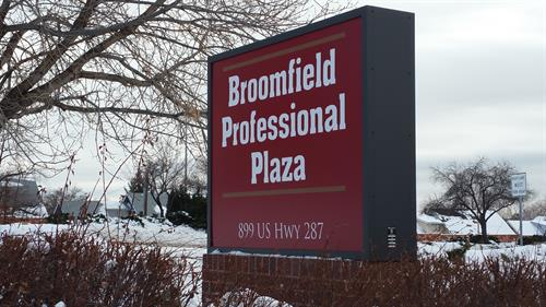 Broomfield Professional Plaza gets new signs
