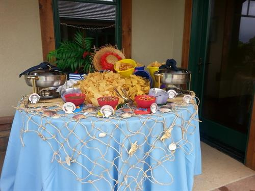 A Fun Theme Party at a Client's Home