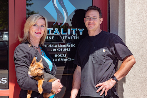 Wendy, Delilah & Dr Manteris - Clinic Owners