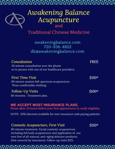 Check out our prices. We accept most insurances.
