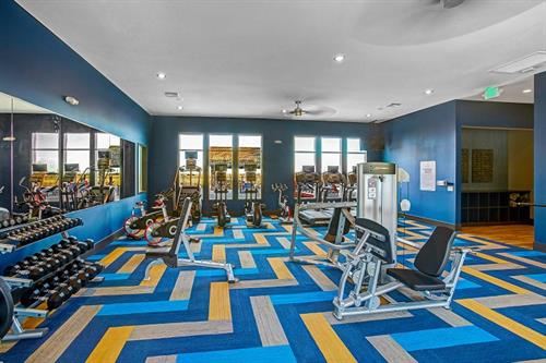 24  hour state of the art fitness center and yoga studio