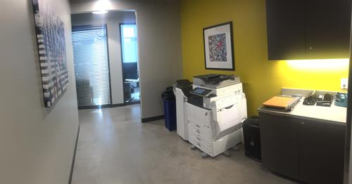 2nd Floor Printer Area