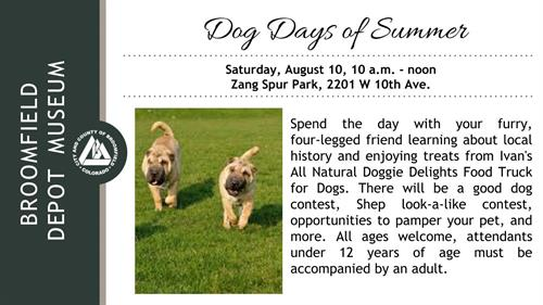 Events - Dog Days of Summer