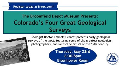 Event: Colorado's Four Great Geological Surveys