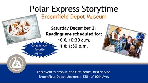 Events - Polar Express Storytime