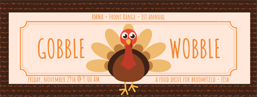 1st Annual Gobble Wobble to Support  Broomfield FISH