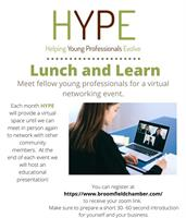 HYPE Lunch and Learn Networking - Understanding and Building your Credit Score