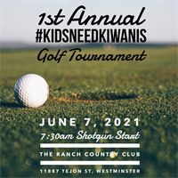 1st Annual #KidsNeedKiwanis Charity Golf Tournament