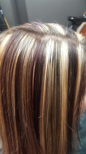 Multi-color highlights