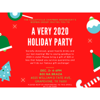 Wednesday's Women 2020 Holiday Party
