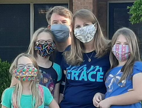 Mask Up and join us at GRACE!