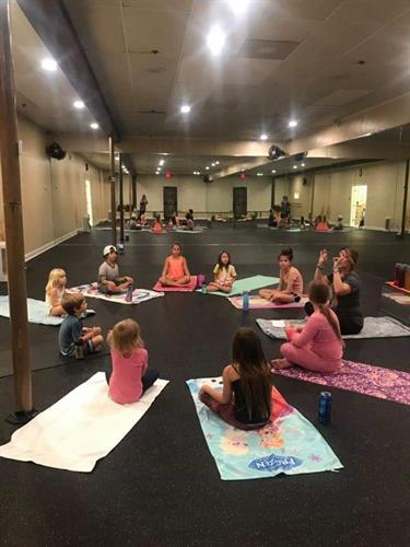 We offer Kids Yoga every 1st & 3rd FRI of the month from 3-4 PM.
