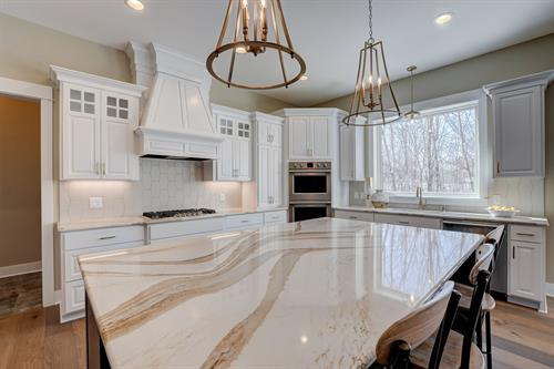 We offer Cambria Quartz.
