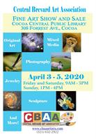 Central Brevard Art Association Cocoa Art Show and Sale