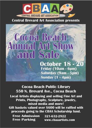 Cocoa Beach Public Library Show Oct 19