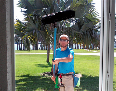 Ladderless window cleaning, the safest way to clean windows!