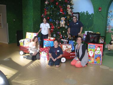 Toy Delivery to Arnold Palmer Hospital for Children