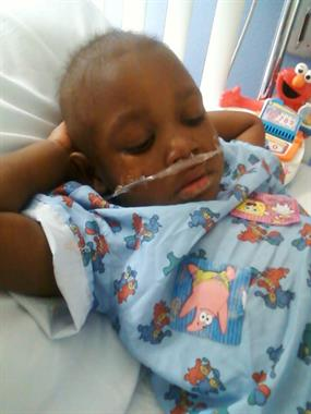 Children can become very ill after chemo treatments. Daryl fighting pneumonia.