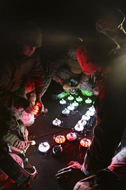 Phantom Products' Phantom AZL-15™ Lights employed by the USMC.