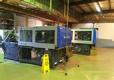 We have two injection molding machines in house just waiting for your work!