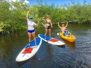 Kayak Tours and Kayak Rentals along with Paddle Board Tours and Rentals at SoBe Surf! Mix and Match!