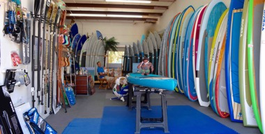 SoBe Surf & Paddle is the region's largest Mom & Pop Paddle Board shop!