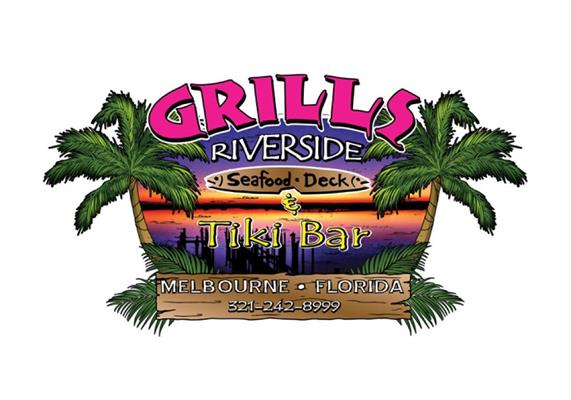 Grills riverside seafood deck tiki bar catering entertainment restaurants cocoa beach - Grills seafood deck tiki bar ...