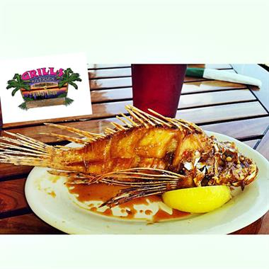 Try the lion fish.