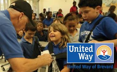 Working with United Way reading program during the summer