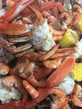All You Can Eat Crab Boil