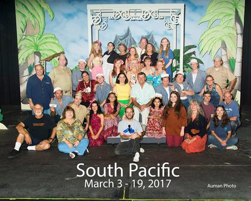 Cast of South Pacific March 2017