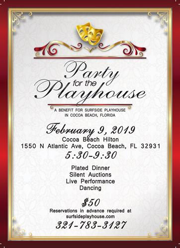 Party for the Playhouse 2019