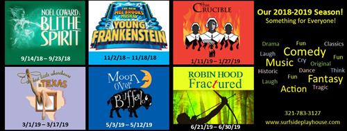 Current Season - Get your tickets now!