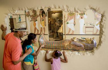 King Tutankhamun Burial Chamber