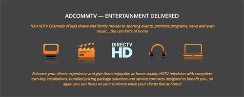 AdcommTV - Satellite TV/Electronics