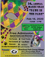 14th Annual Mardi Gras Paws in the Park