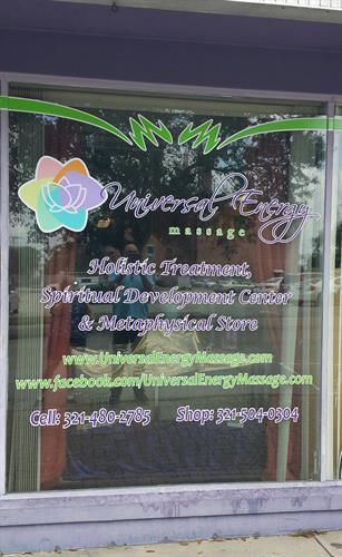 Universal Energy Massage Store Front