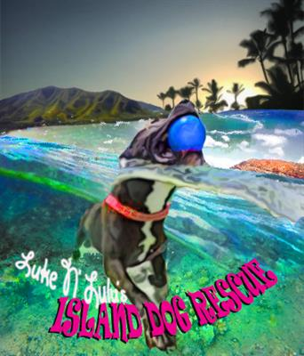 Luke N Lulus Island Dog Rescue