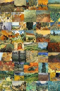 Van Gogh Montage
