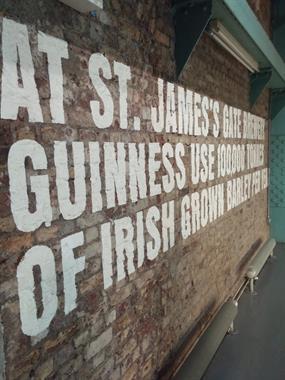 Guinness Storehouse Tour at St. James's Gate Dublin