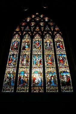 Stained Glass Windows at the Black Abbey in Kilkenny