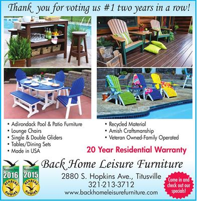 Back Home Leisure Furniture