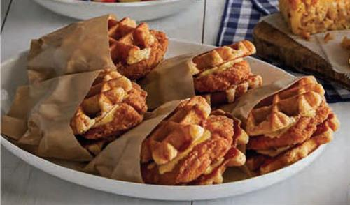 Chicken Waffle Sandwich Catering