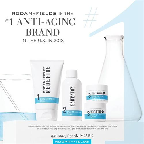 In addition to being the #1 skin care brand, we also carry the #1 anti-aging line!