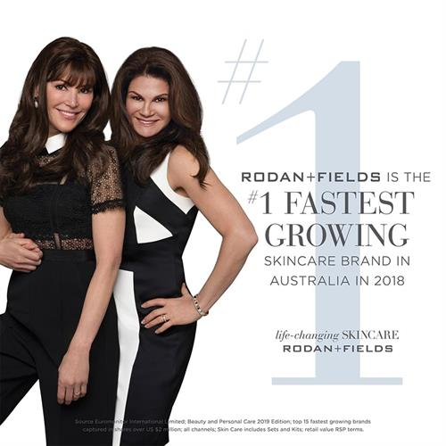 After only 18 months in Australia, we are the fastest growing skin care brand down under!