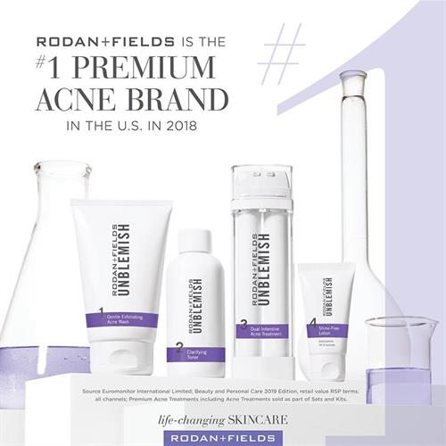 In addition to being the #1 skin care brand, we also carry the #1 Premium Acne line!