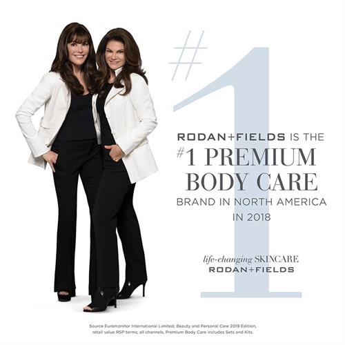Thanks to our ACTIVE HYDRATION BODY REPLENISH, we are also the #1 Premium BODY CARE brand!